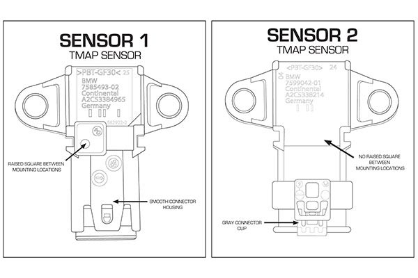 AFE BMW TMAP SENSOR DIAGRAM