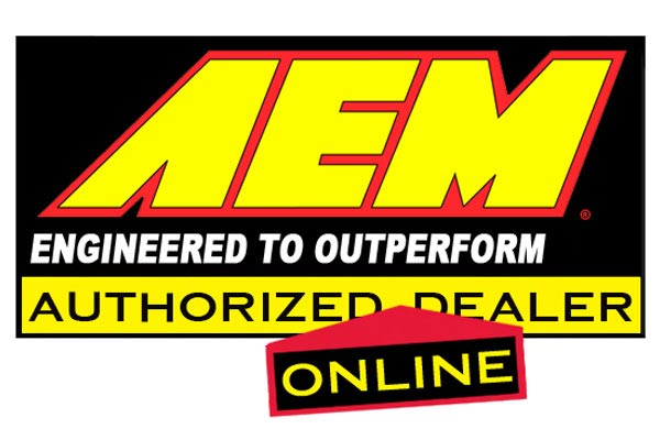 aem replacement air intake filters logo