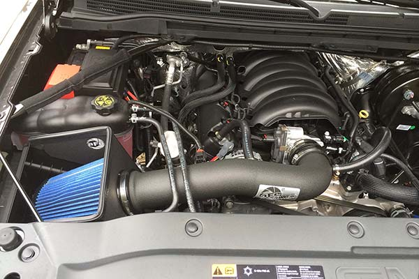afe magnum intake installed on 2014 gmc sierra 1500
