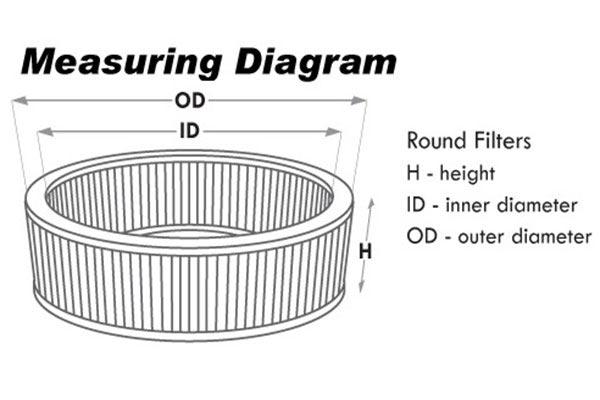airaid universal round graphic diagram