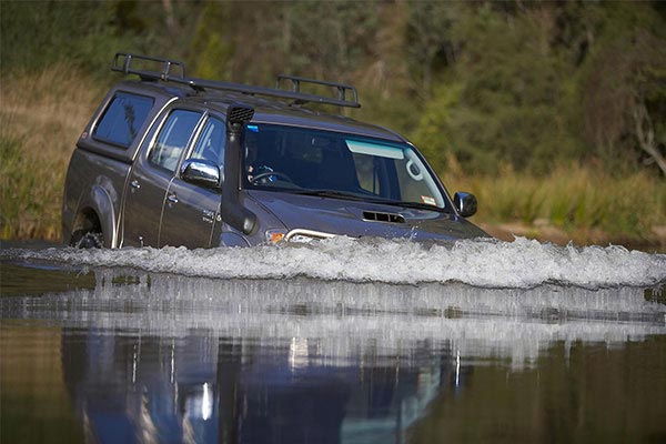 arb safari snorkel emerged