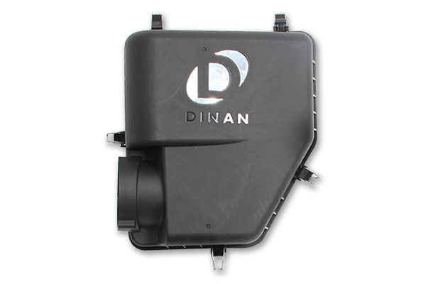 dinan high flow intake kit air box logo