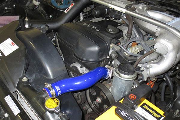 hps silicone radiator hose kits isntalled