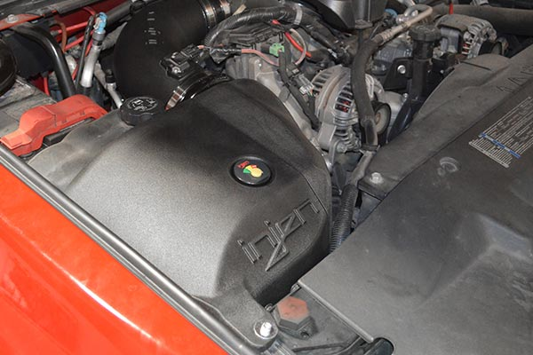 injen evolution cold air intake installed