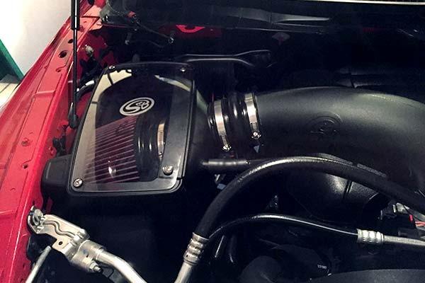 S B Cold Air Intake Boost Performance Mileage Free Shipping