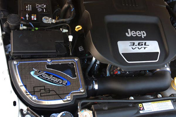 volant jeep intake install