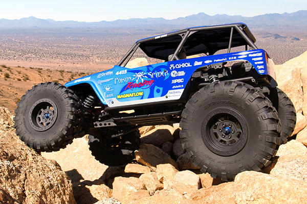 poison spyder axial wraith rtr rock crawl