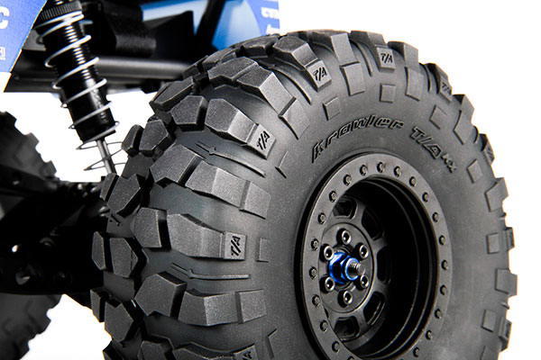poison spyder axial wraith rtr tires detail