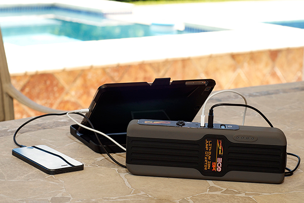 epower360 ego jump pack portable jump starter charge iphone