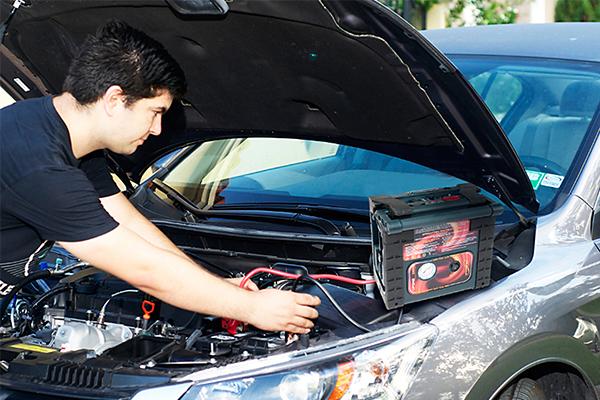 epower360 spike portable jump starter start car