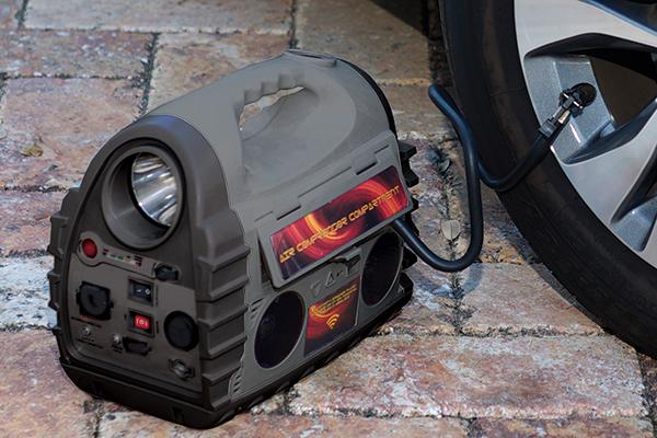 epower360 volta portable jump starter inflate car tire