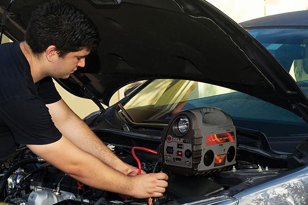 epower360 volta portable jump starter start car