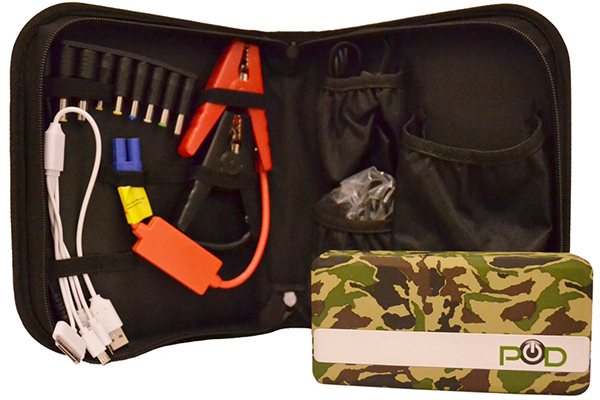 pod x5 jump pack portable jump starter travel case