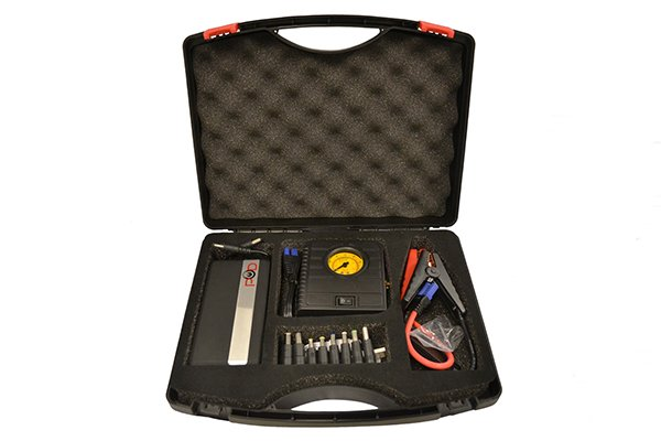 pod x5 portable air compressor kit case