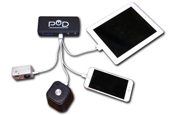 pod x 4 charging