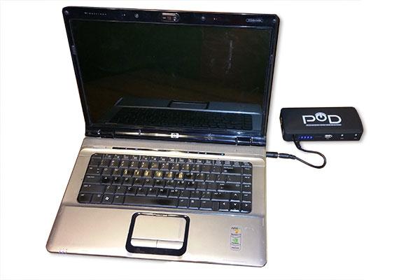 pod x 4 charging computer