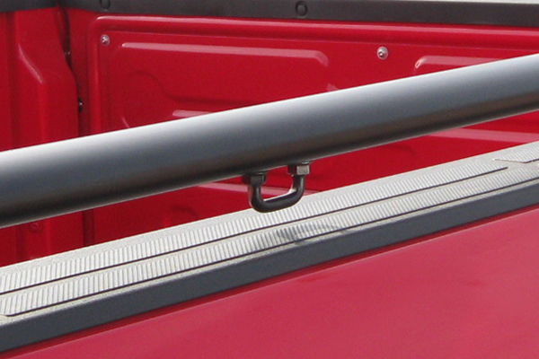 luverne oval bed rails tie downs