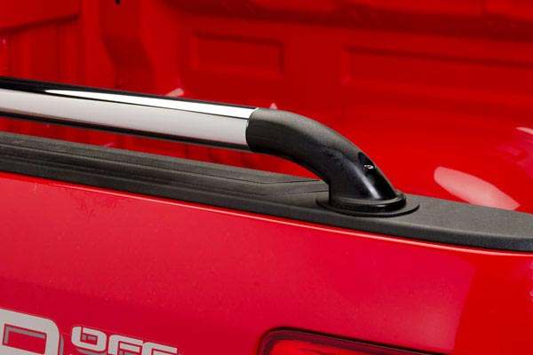 putco nylon ssr locker side bed rails installed