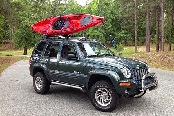 1847 thule hull a port kayak carrier jeep liberty