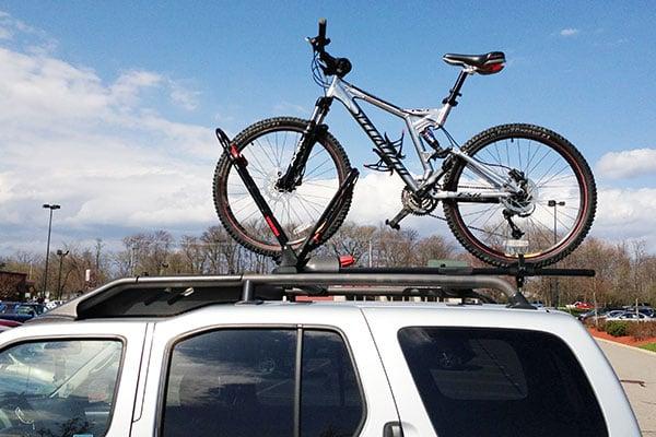 7111 yakima frontloader bike rack nissan xterra