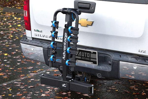 advantage sports rack glideaway2 hitch mount bike rack rel2
