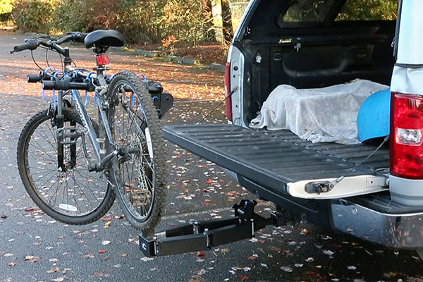 advantage sports rack glideaway2 hitch mount bike rack rel3