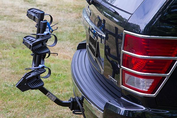 advantage sportsrack flatrack hitch mount bike rack folded