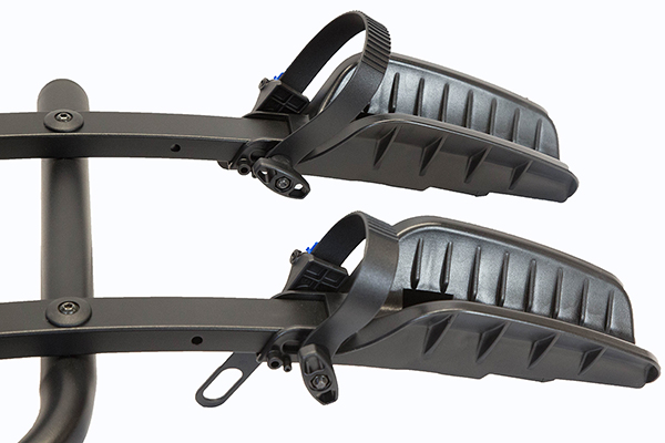 advantage sportsrack flatrack hitch mount bike rack wheel straps