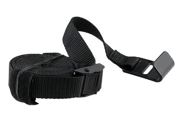curt towable hitch mount bike rack tie straps