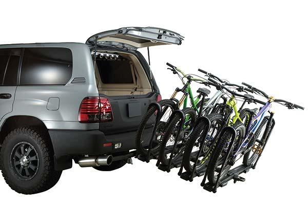Bike Rack For Suv >> Inno Tire Hold Ii Hitch Bike Rack