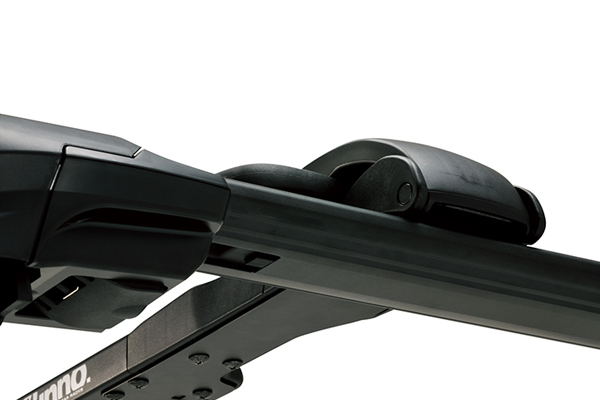 inno t slot fork lock bike rack for aero base attached to aero base