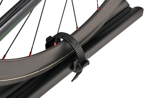inno t slot fork lock bike rack for aero base tire strap