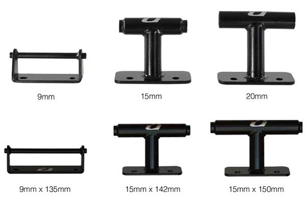 kuat dirtbag bike mount sizes