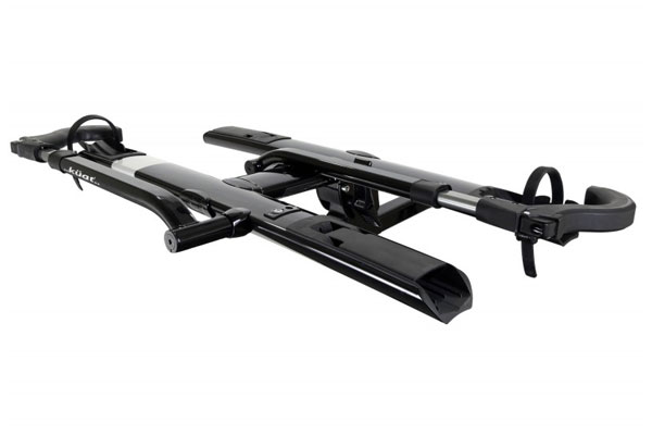 kuat sherpa hitch mount bike rack folded down1