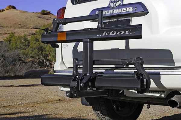 kuat sherpa hitch mount bike rack lifestyle3