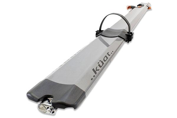 kuat trio fork mount roof bike rack rear