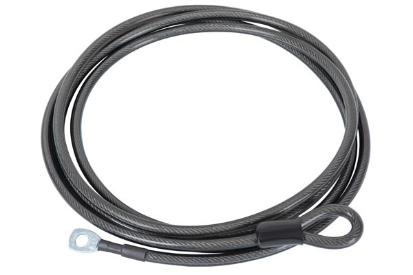 rhino rack cable with locking hitch pin cable