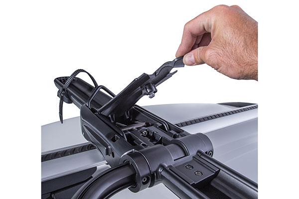 rhino rack roof mount hybrid bike rack clamp