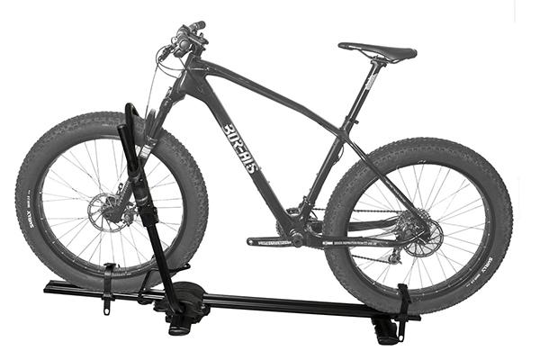 rocky mounts tomahawk roof bike rack fat tire bike
