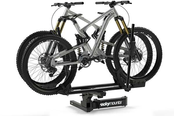 rockymounts backstage hitch mount bike rack angled1