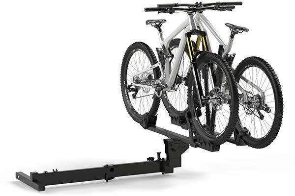 rockymounts backstage hitch mount bike rack angled3