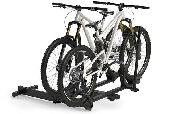rockymounts backstage hitch mount bike rack angled4