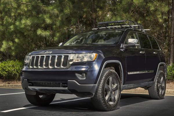 rugged ridge spartacus cargo basket installed jeep lifestyle