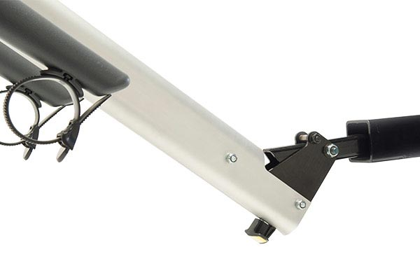 saris axis aluminum hitch mount bike rack tilt