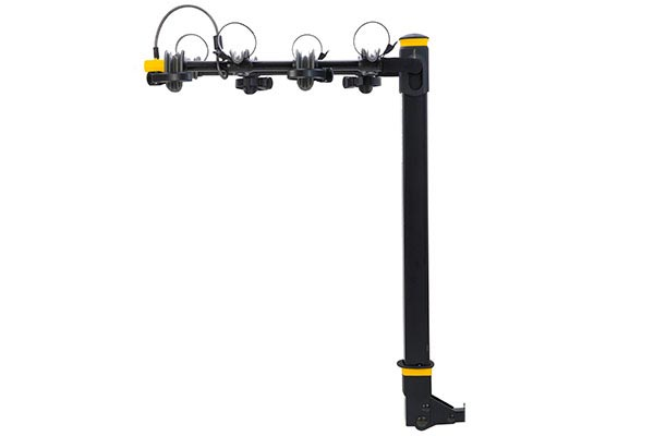 saris bike porter hitch mount bike rack 4 bike locking