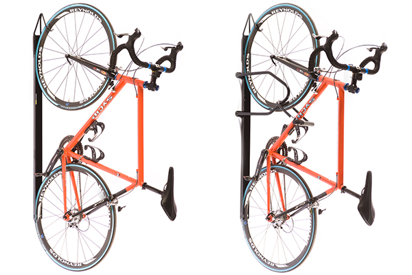 saris bike trac wall storage rack w wo lock