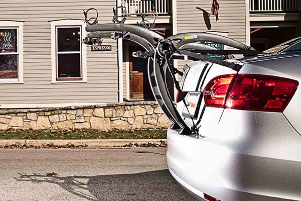 saris bones trunk mount bike rack profile