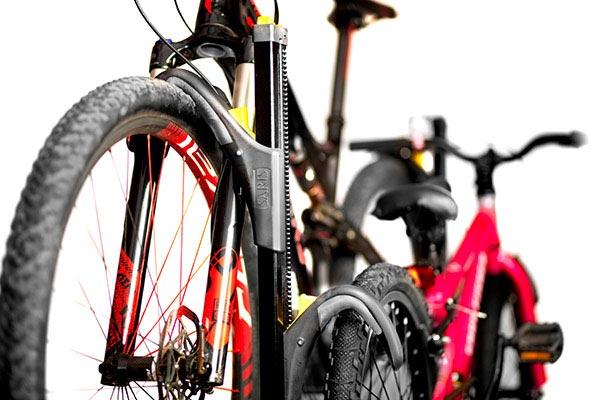 saris freedom superclamp hitch mount bike rack mtb and kids bikes