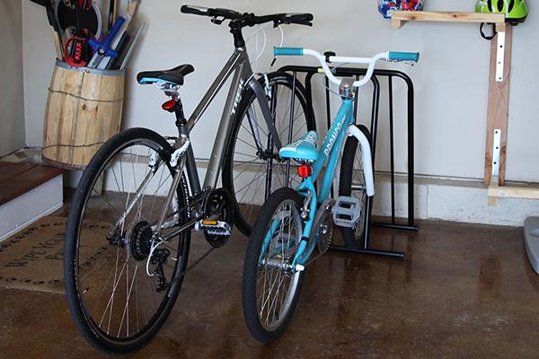 saris mini mite bike parking rack home storage