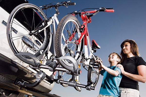 saris thelma hitch mount bike rack juvenile woman boy